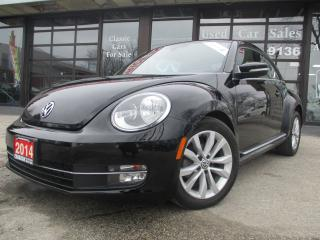 Used 2014 Volkswagen Beetle TDI HIGHLINE-NAVIGATION-PANO-ROOF-BLUETOOTH-HETAED for sale in Scarborough, ON
