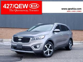 Used 2017 Kia Sorento EX+ | Panoramic Roof | Leather | Blindspot Alert for sale in Etobicoke, ON