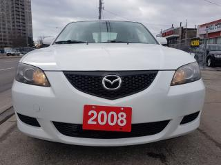 Used 2008 Mazda MAZDA3 GX - Mint Condition, Extra Clean, SunRoof, Alloys for sale in Scarborough, ON