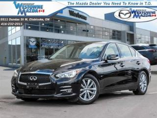 Used 2015 Infiniti Q50 Sport - Navigation -  Leather Seats for sale in Toronto, ON