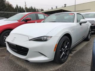 New 2019 Mazda Miata MX-5 RF GT 6sp Black Leather for sale in North Vancouver, BC