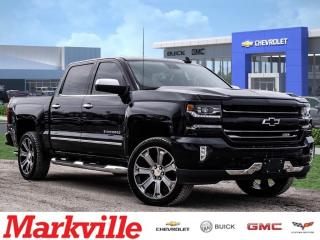 Used 2017 Chevrolet Silverado LTZ-CREW-NAVI-ROOF-GM CERTIFIED PRE-OWNED-1 OWNER for sale in Markham, ON