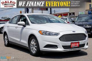Used 2016 Ford Fusion S | BACK UP CAM | BLUETOOTH | CLEAROUT SALE for sale in Hamilton, ON