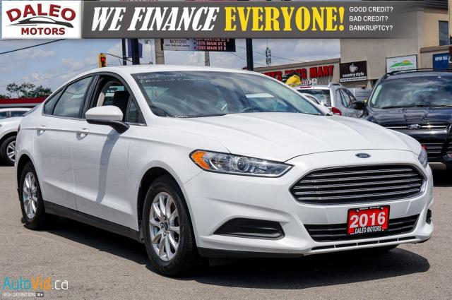 2016 Ford Fusion S | BACK UP CAM | BLUETOOTH | CLEAROUT SALE