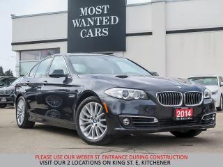 Used 2014 BMW 528 i xDrive | NAVIGATION | CAMERA | H/K SOUND for sale in Kitchener, ON