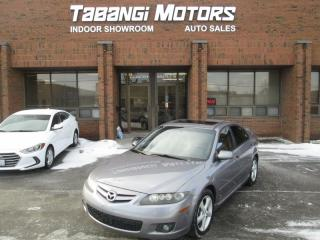 Used 2006 Mazda MAZDA6 GT | NO ACCIDENTS | LEATHER | SUNROOF | HTD SEATS for sale in Mississauga, ON