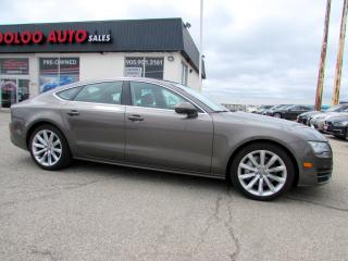 Used 2012 Audi A7 3.0T Premium Quattro Navigation Bluetooth Certified for sale in Milton, ON
