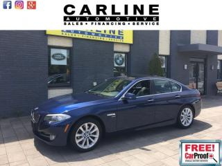 Used 2012 BMW 5 Series 528i/XDRIVE/NAV/BACK UP CAM/SUNROOF/ONLY 65K! for sale in Nobleton, ON