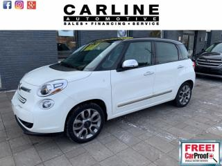Used 2014 Fiat 500 L LOUNGE/BACK UP CAM/PANO ROOF/NAV/ONLY 53K for sale in Nobleton, ON