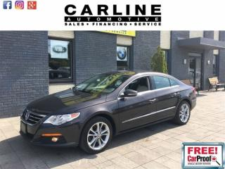 Used 2011 Volkswagen Passat CC MINT CONDITION/SPORTLINE/LEATHER/108K for sale in Nobleton, ON