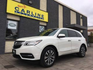 Used 2015 Acura MDX NAV PACKAGE/NAV/CAM/ROOF/BTOOTH/92K/ ONE OWNER for sale in Nobleton, ON