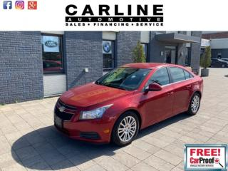 Used 2011 Chevrolet Cruze 4dr Sdn Eco w/1SA for sale in Nobleton, ON