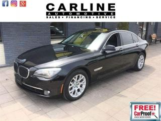 Used 2010 BMW 7 Series 4dr Sdn 750i xDrive AWD for sale in Nobleton, ON