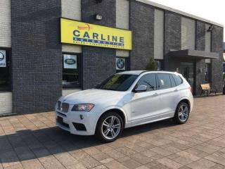 Used 2014 BMW X3 XDRIVE/MPACKAGE/NAV/ROOF/92K for sale in Nobleton, ON
