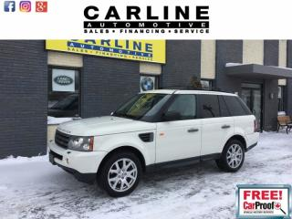 Used 2008 Land Rover Range Rover Sport SPORT HSE/NAVIGATION/ROOF/PARK SENSORS/ONLY 131K! for sale in Nobleton, ON