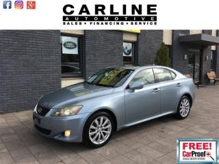 Used 2008 Lexus IS 250 LEATHER HEATED SEAT/MOONROOF/KEYLESS GO/149K... for sale in Nobleton, ON
