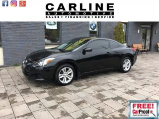 Used 2012 Nissan Altima 2dr Cpe I4 2.5 S for sale in Nobleton, ON