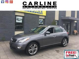 Used 2013 Infiniti EX37 LUXURY/BACK UP CAMERA/BTOOTH/KEYLESS GO/108K for sale in Nobleton, ON