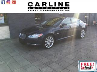 Used 2011 Jaguar XF PREMIUM LUXURY PORTFOLIO/FULLY LOADED/34K for sale in Nobleton, ON