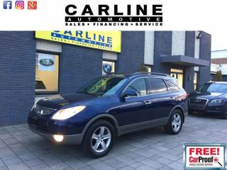 Used 2008 Hyundai Veracruz LIMITED/DVD/LEATHER/ROOF/BTOOTH/113K for sale in Nobleton, ON