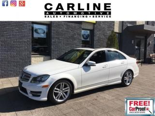 Used 2013 Mercedes-Benz C-Class C250/HEATED SEATS/MOONROOF/BLUETOOTH/89K for sale in Nobleton, ON