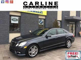 Used 2010 Mercedes-Benz E-Class 550/FULLY LOADED/MSG SEATS/NAV/NGHT VSN/CAM/113K for sale in Nobleton, ON