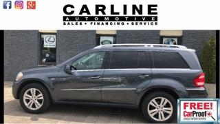 Used 2011 Mercedes-Benz GL-Class 350/BT/7PASSENGER/NAV/CAM/DVD/ROOF/141K for sale in Nobleton, ON
