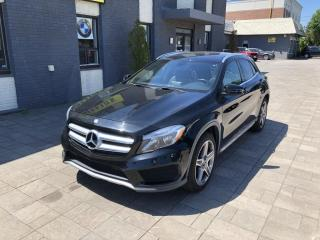 Used 2015 Mercedes-Benz GLA 250/NAV/PANO ROOF/BLIND SPOT/TIPTRONIC/72K for sale in Nobleton, ON