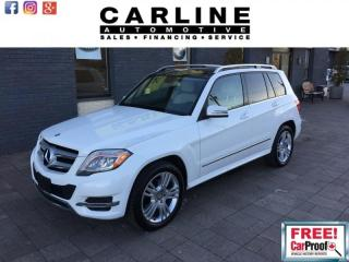 Used 2015 Mercedes-Benz GLK-Class 250 BTECH/NAVI/PANO ROOF/73K for sale in Nobleton, ON