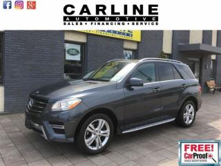 Used 2013 Mercedes-Benz ML-Class ML350/BLUETECH/BLUETOOTH-SUNROOF/134k for sale in Nobleton, ON