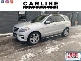 Used 2015 Mercedes-Benz ML-Class ML350/BLUETECH/FULLY LOADED/58K for sale in Nobleton, ON