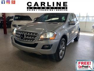 Used 2010 Mercedes-Benz ML-Class ML350/BLUETECH/FULLY LOADED/NAV/CAM/ROOF/171K for sale in Nobleton, ON