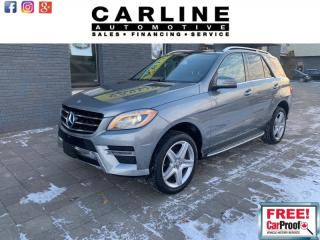 Used 2014 Mercedes-Benz ML-Class ML350/BLUETECH/FULLY LOADED/NAV/ROOF/CAM/102K... for sale in Nobleton, ON