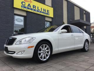 Used 2007 Mercedes-Benz S-Class V8/FULLY LOADED/NAV/PANOR ROOF/CAM/WITH ONLY 117K! for sale in Nobleton, ON