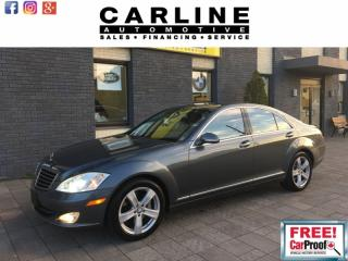 Used 2008 Mercedes-Benz S-Class 4.7L/FULLY LOADED/NAV/ROOF/MASSAGE SEATS/149K for sale in Nobleton, ON