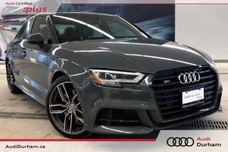 Used 2018 Audi S3 2.0T Technik + Black Ops | Driver Assist for sale in Whitby, ON