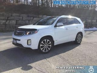 Used 2014 Kia Sorento 3.3L SX V6 AWD at  - Sunroof - $146.04 B/W for sale in Simcoe, ON