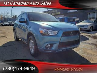Used 2012 Mitsubishi RVR SE-AWD-ONE OWNER-ACCIDENT FREE-LOW Monthly Payment RVR for sale in Edmonton, AB