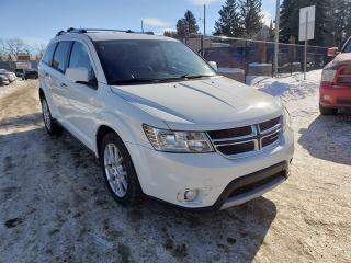 Used 2013 Dodge Journey R/T-AWD-LEATHER-LOW Monthly PAYMENTS!! for sale in Edmonton, AB