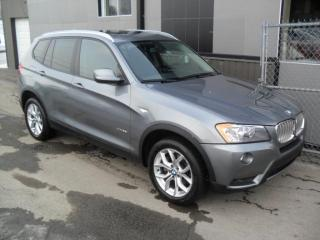 Used 2013 BMW X3 28i 4x4 2.0 L ECONO AA1 + GARANTIE 3 ans for sale in Laval, QC
