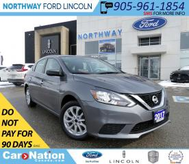 Used 2017 Nissan Sentra SV | HTD SEATS | BACKUP CAM | SUNROOF | for sale in Brantford, ON