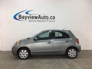Used 2015 Nissan Micra SV - 5SPD! A/C! CRUISE! BLUETOOTH! PWR GROUP! for sale in Belleville, ON