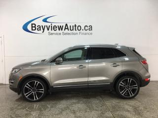 Used 2017 Lincoln MKC Reserve - AWD! PANOROOF! BIG MOTOR! LTHR! for sale in Belleville, ON