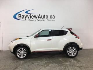 Used 2016 Nissan Juke SV - AUTO! PWR GROUP! ALLOYS! 18,000KMS! for sale in Belleville, ON