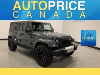 Used 2015 Jeep Wrangler Unlimited Sahara Sahara for sale in Mississauga, ON