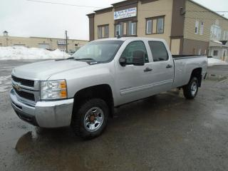 Used 2010 Chevrolet Silverado 2500 4 RM, Cabine multiplaces 167 po, LT for sale in Mirabel, QC