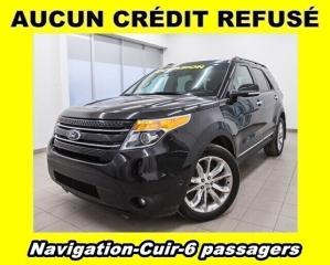 Used 2014 Ford Explorer LIMITED 4X4 6 PASSAGERS CUIR *NAVIGATION* for sale in Mirabel, QC