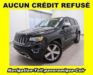 Used 2014 Jeep Grand Cherokee Overland 4x4 Toit for sale in Mirabel, QC