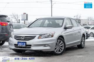 Used 2012 Honda Accord EX-L V6 LEATHER/ROOF 1 OWNER CERTIFIED SERVICED for sale in Bolton, ON