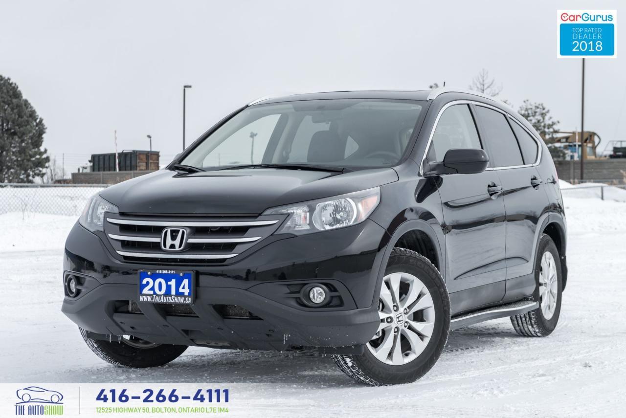 2014 Honda CR-V 1 OWNER NO ACCIDENTS CERTIFIED NAVI GPS EX-L AWD